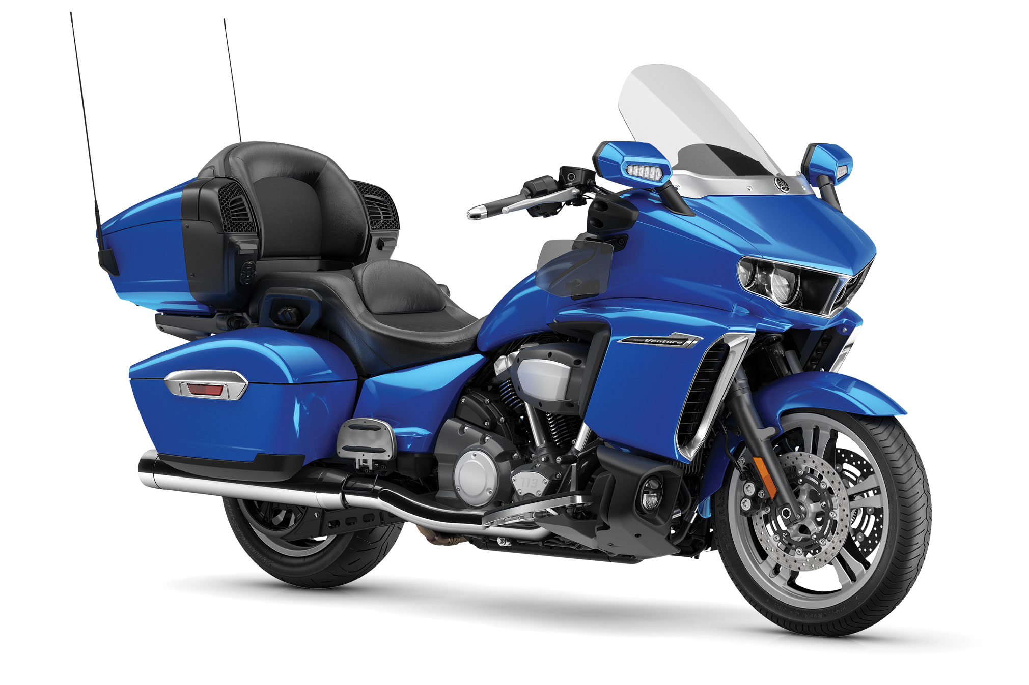 2021 Yamaha Star Venture Front and Side View