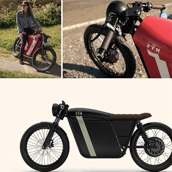 FTN Motion EV Moped Bike