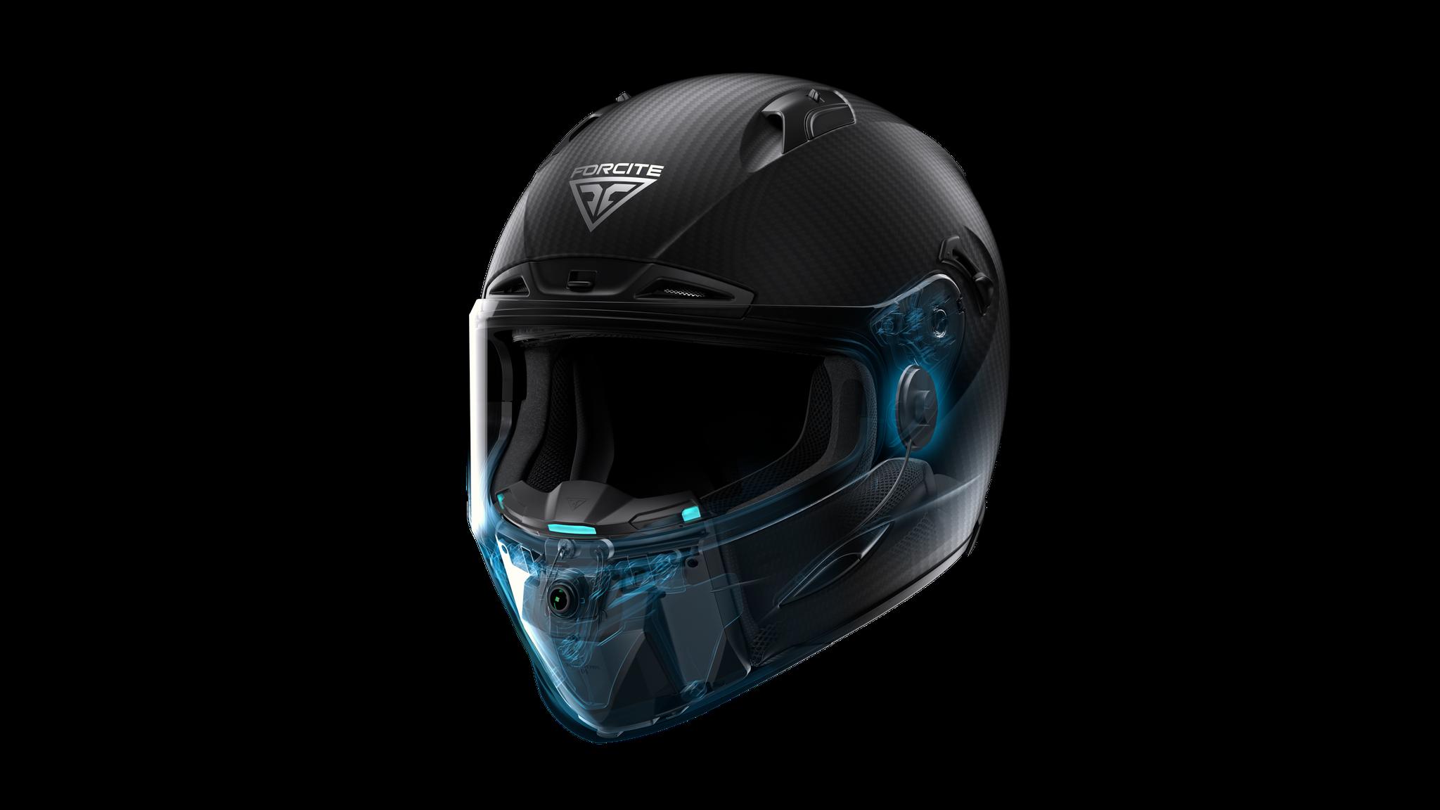 Mũ bảo hiểm thông minh Forcite Mk1