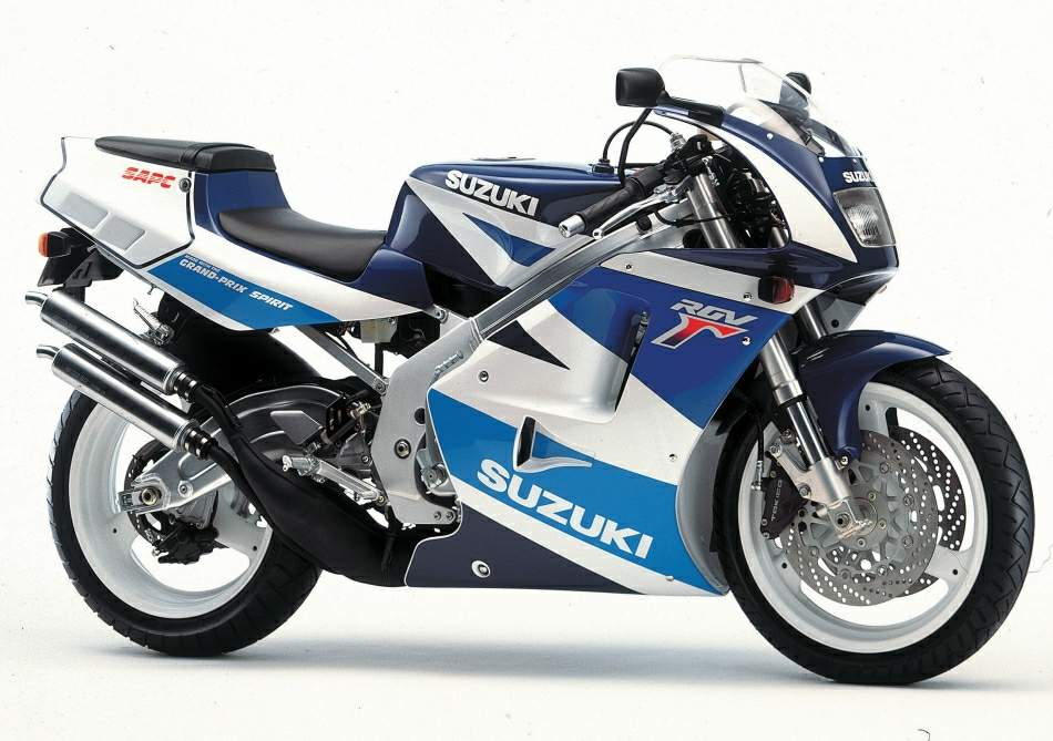 Suzuki RGV250 bên hông