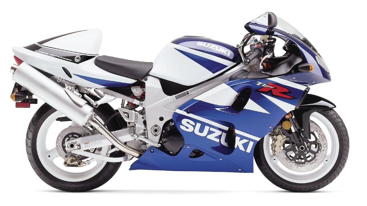 Nhìn từ bên hông Suzuki TL1000R