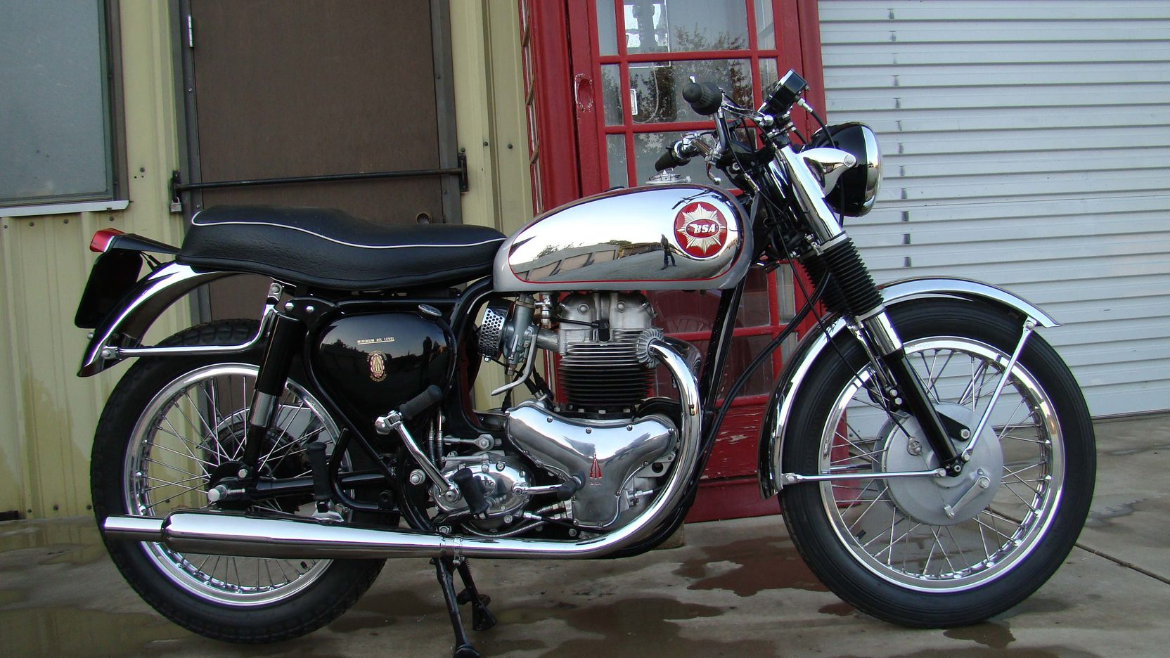 1963 BSA Rocket Gold Star Side View