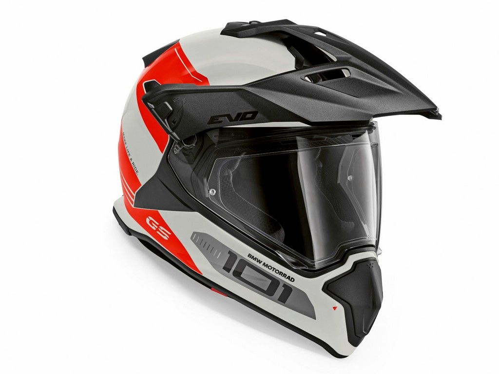 The BMW GS Carbon EVO Helmet