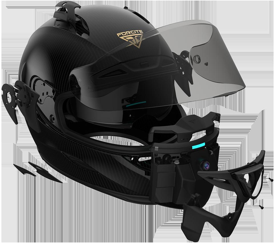 Forcite Helmet Anatomy