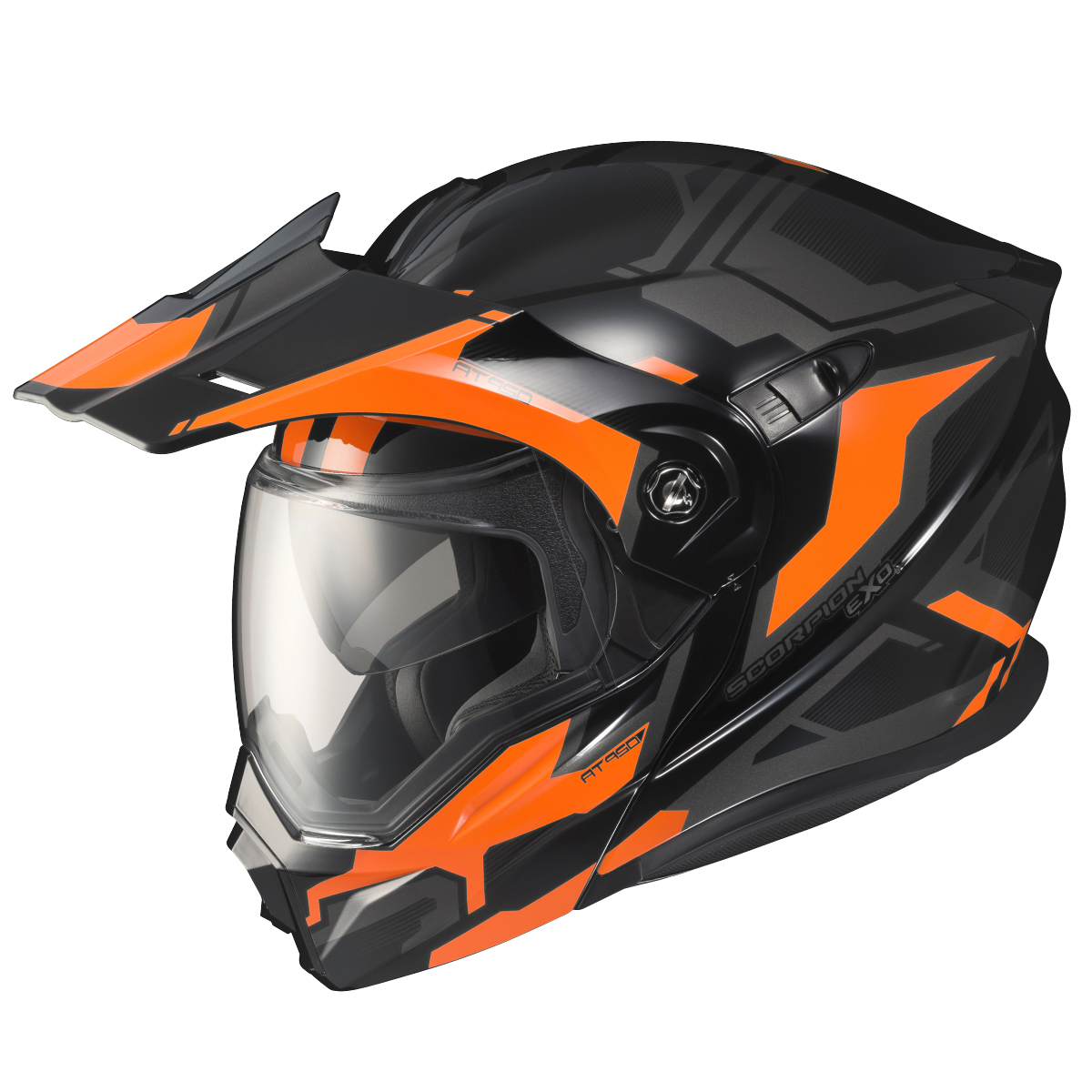 The Scorpion EXO-AT950 helmet.