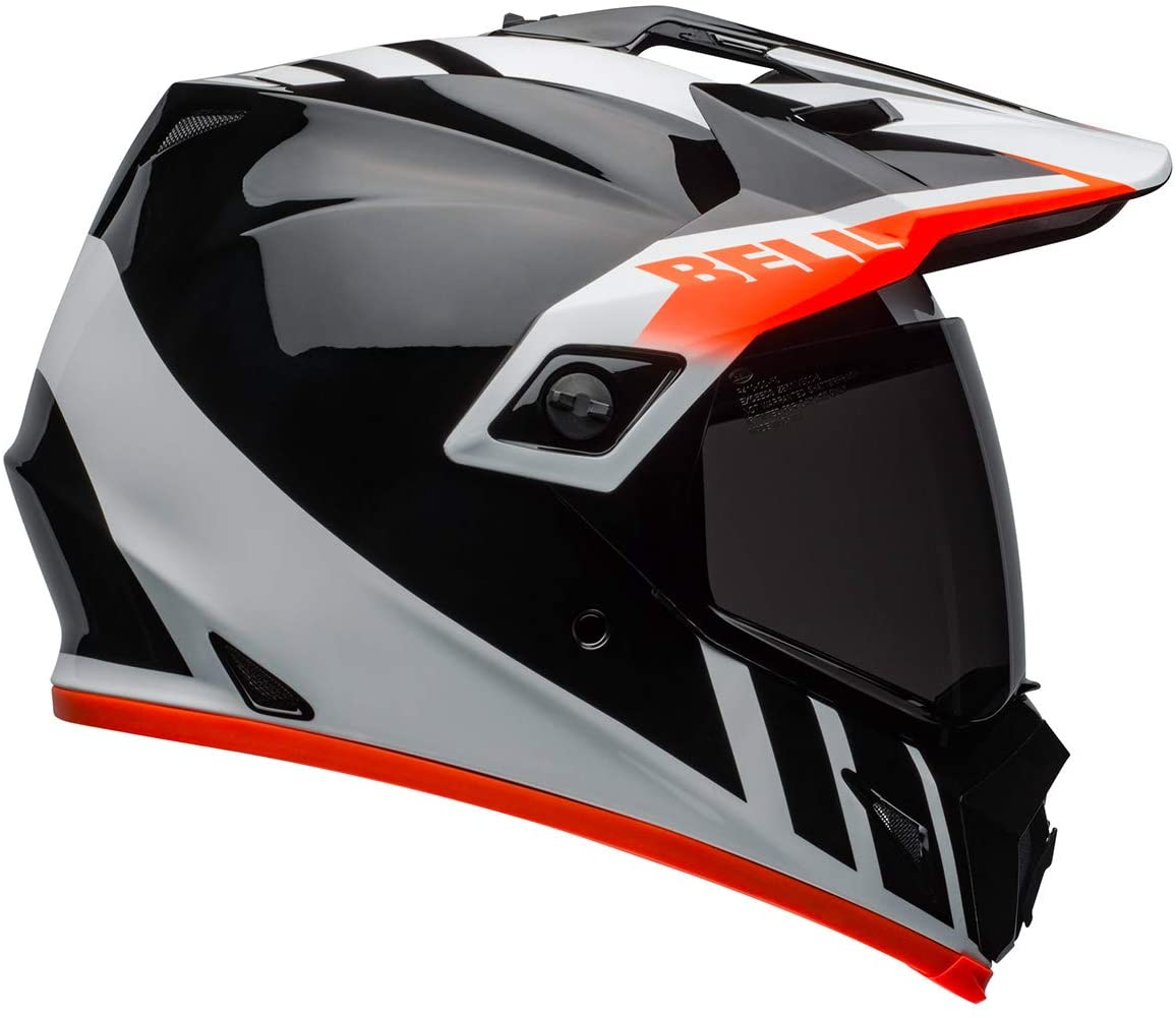 The Bell MX-9 MiPS ADV Helmet.