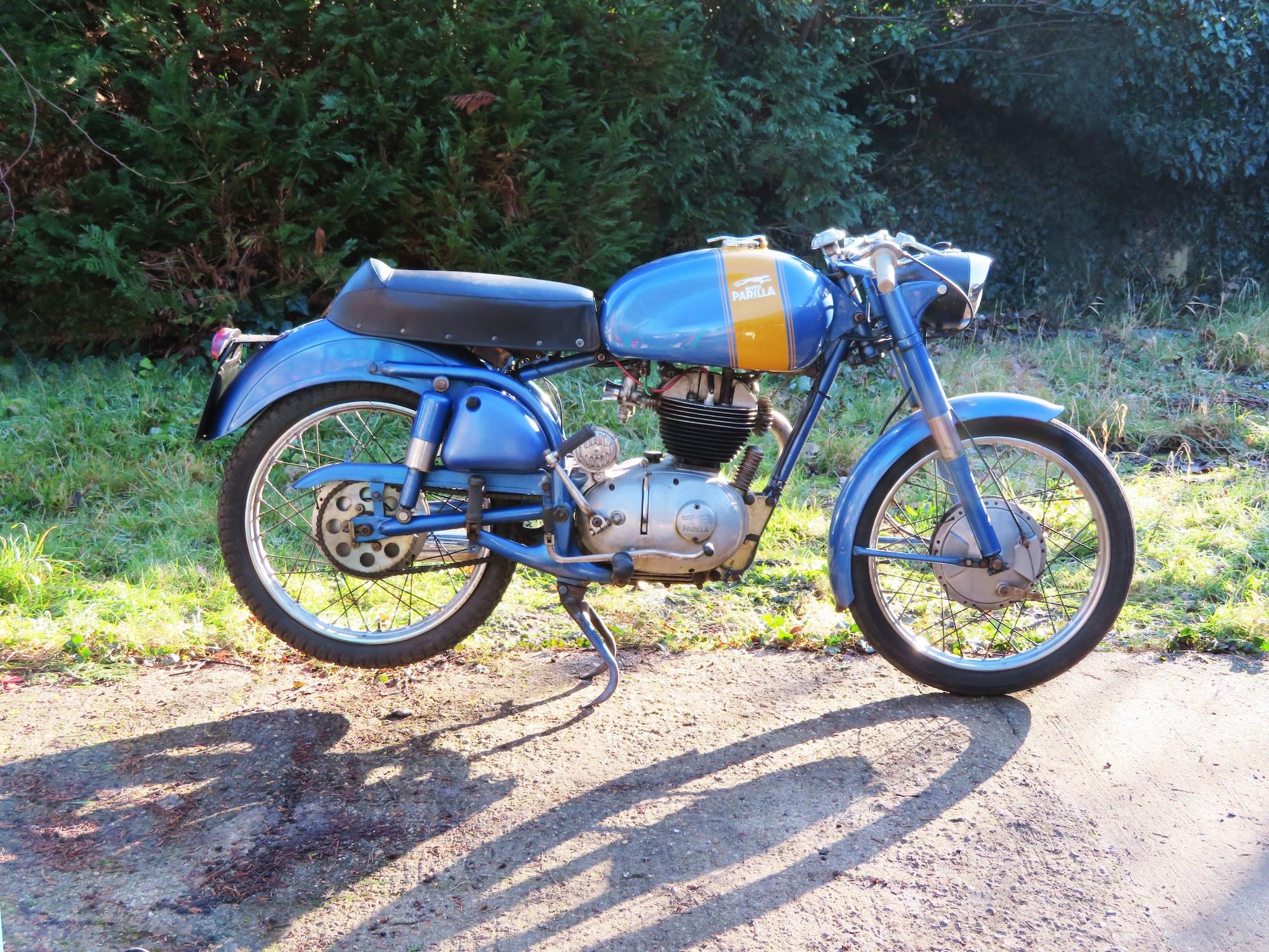 1958 Parilla thể thao 175cc