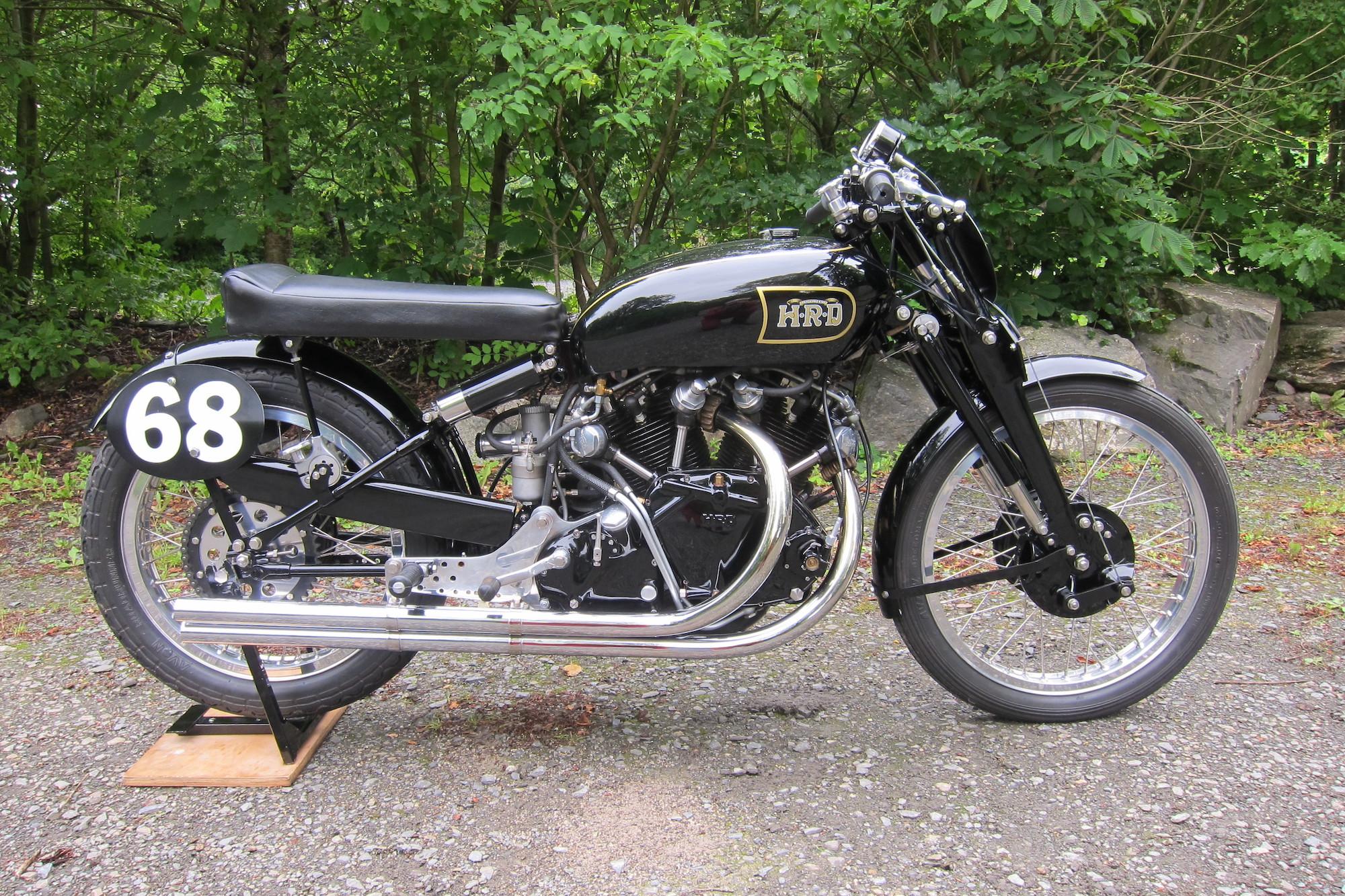 Vincent HRD 998cc Black Lightning Evocation Special