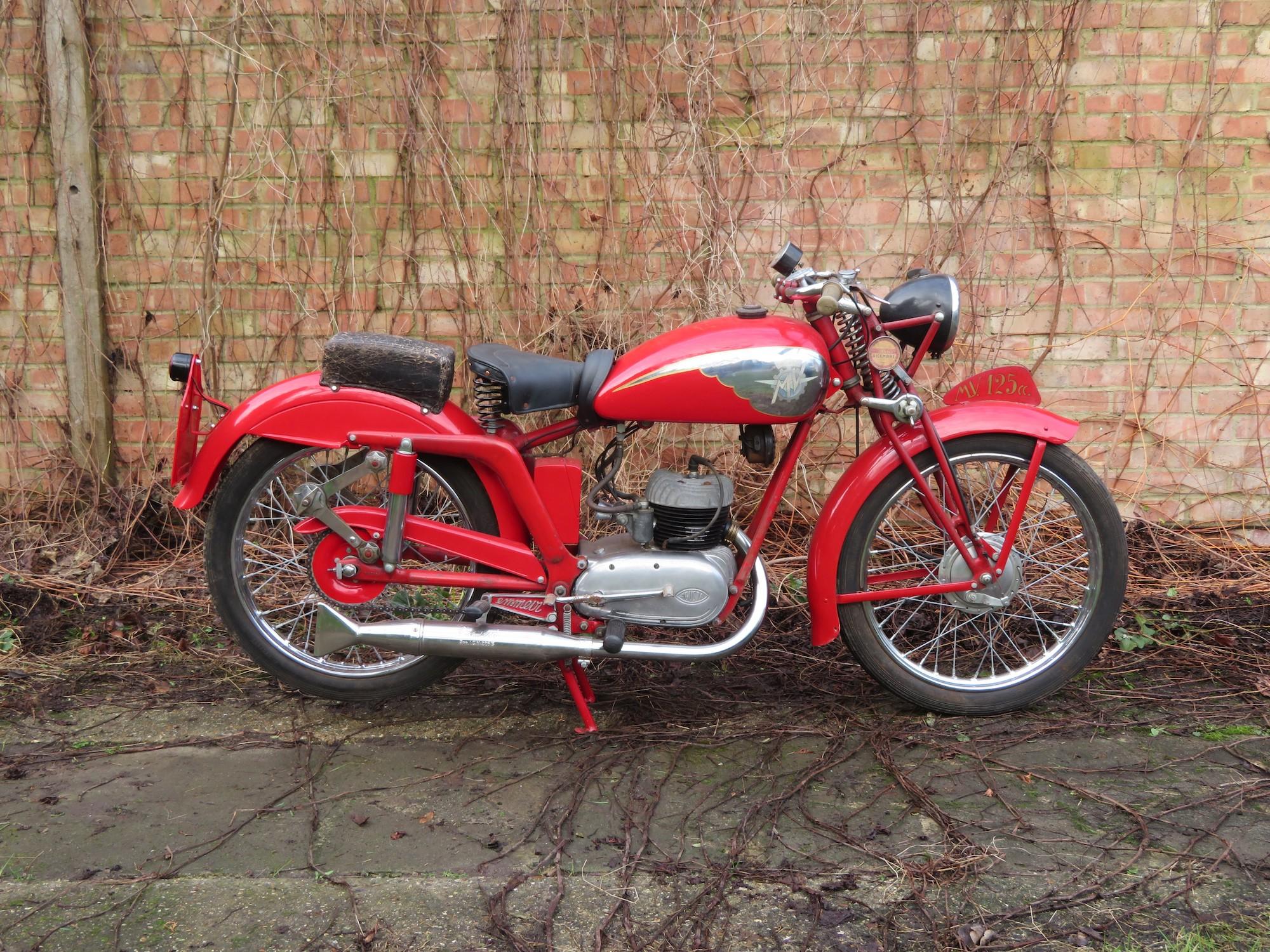 c.1949 MV Agusta 125cc TEL Sport