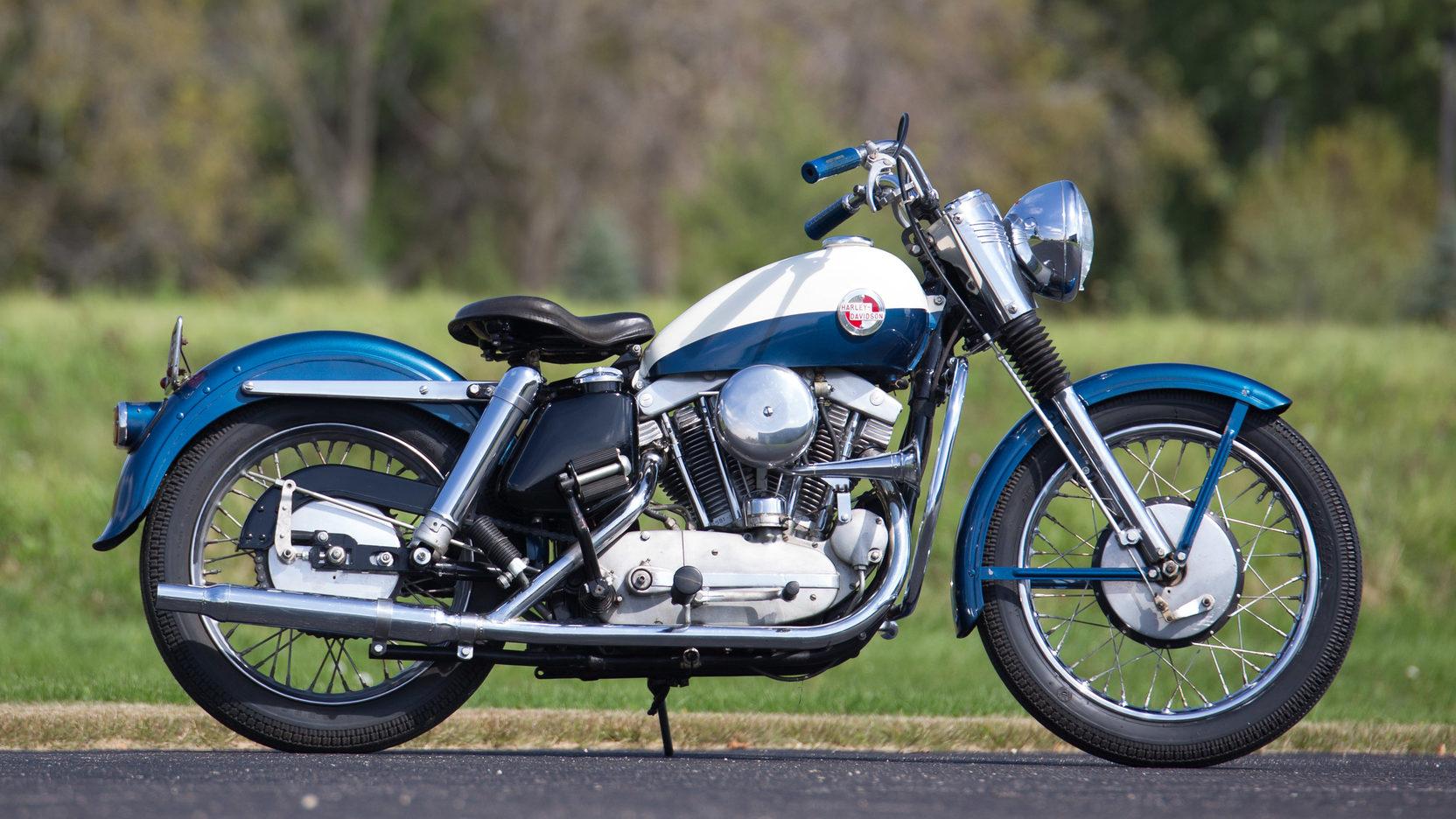 1957 Harley-Davidson Sportster Vista lateral