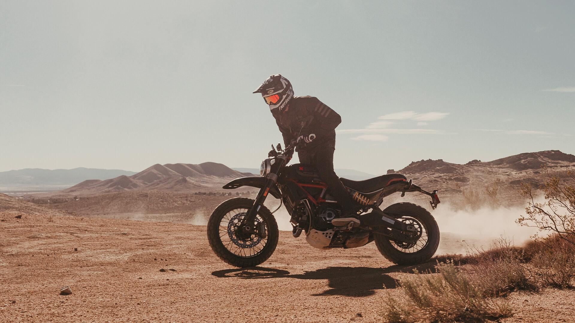 Ducati Scrambler Fasthouse Special Edition in Desert