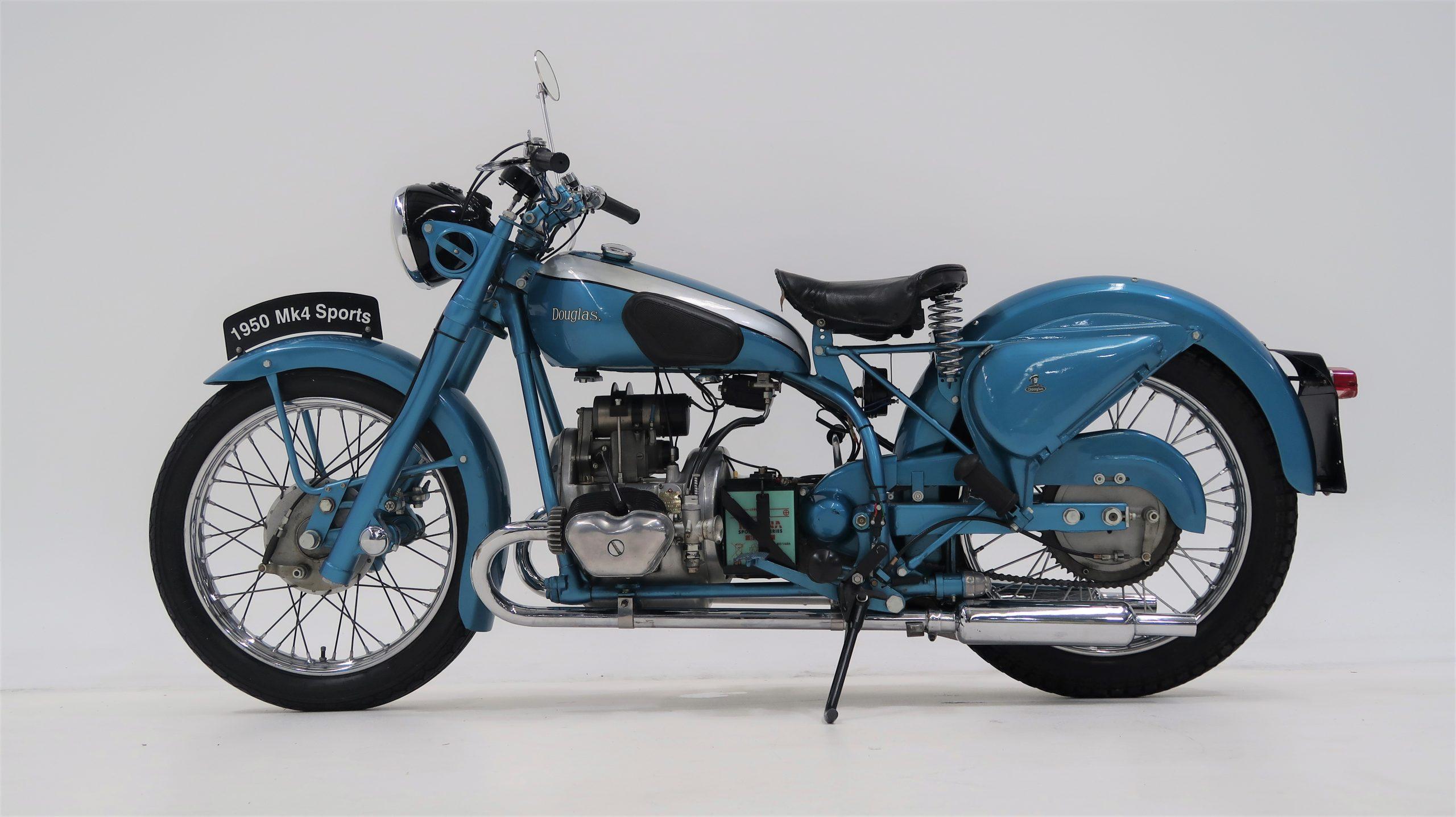 1950 British Douglas Mark 4 350cc