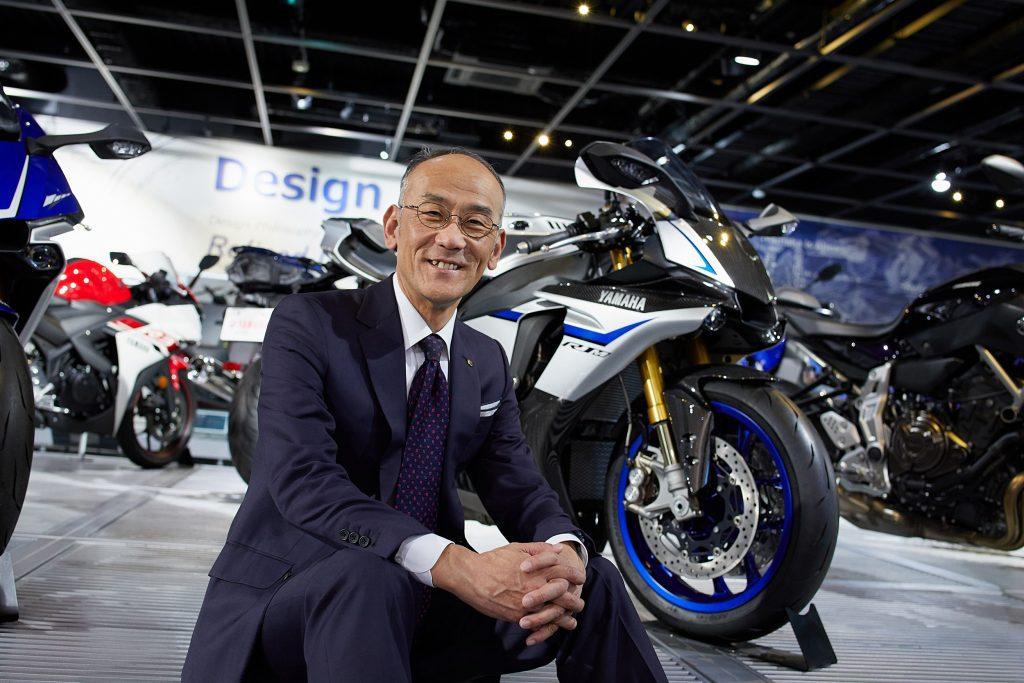 Yoshihiro Hidaka, President of Yamaha Motor Company
