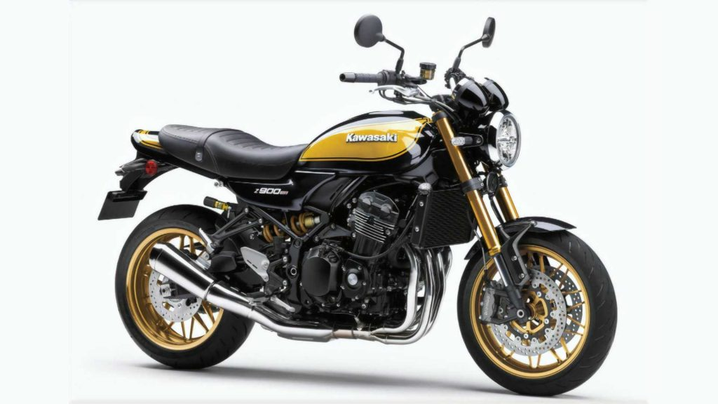 A slightly more frontal side profile of the all-new Z9000RS SE