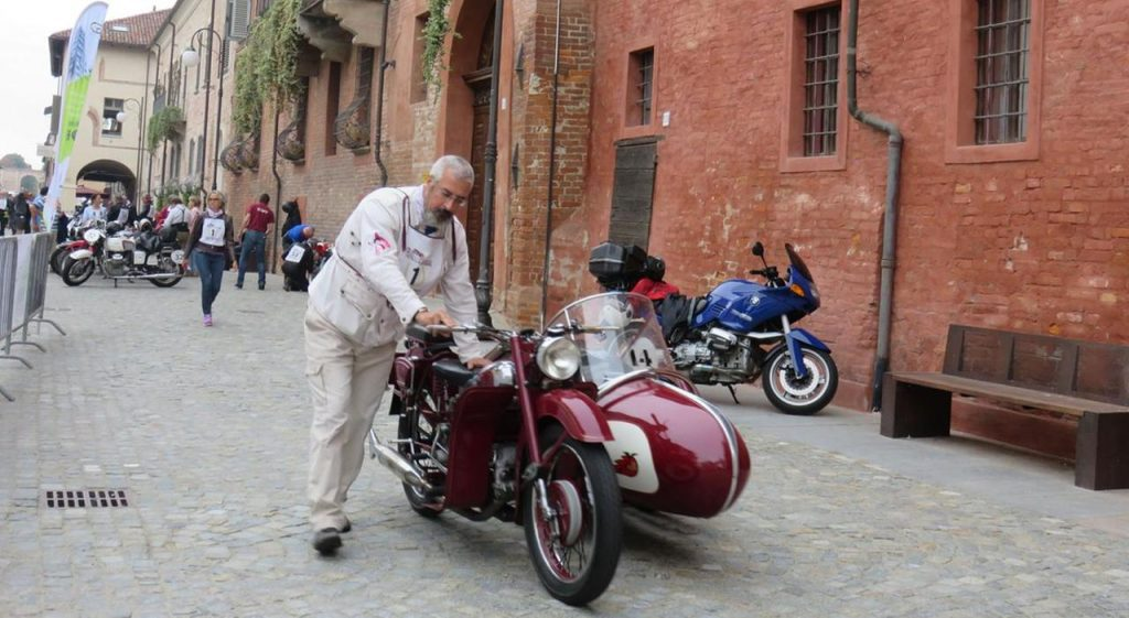 A rider preparing to attend the fifth annual Dario Sebaste Trophy