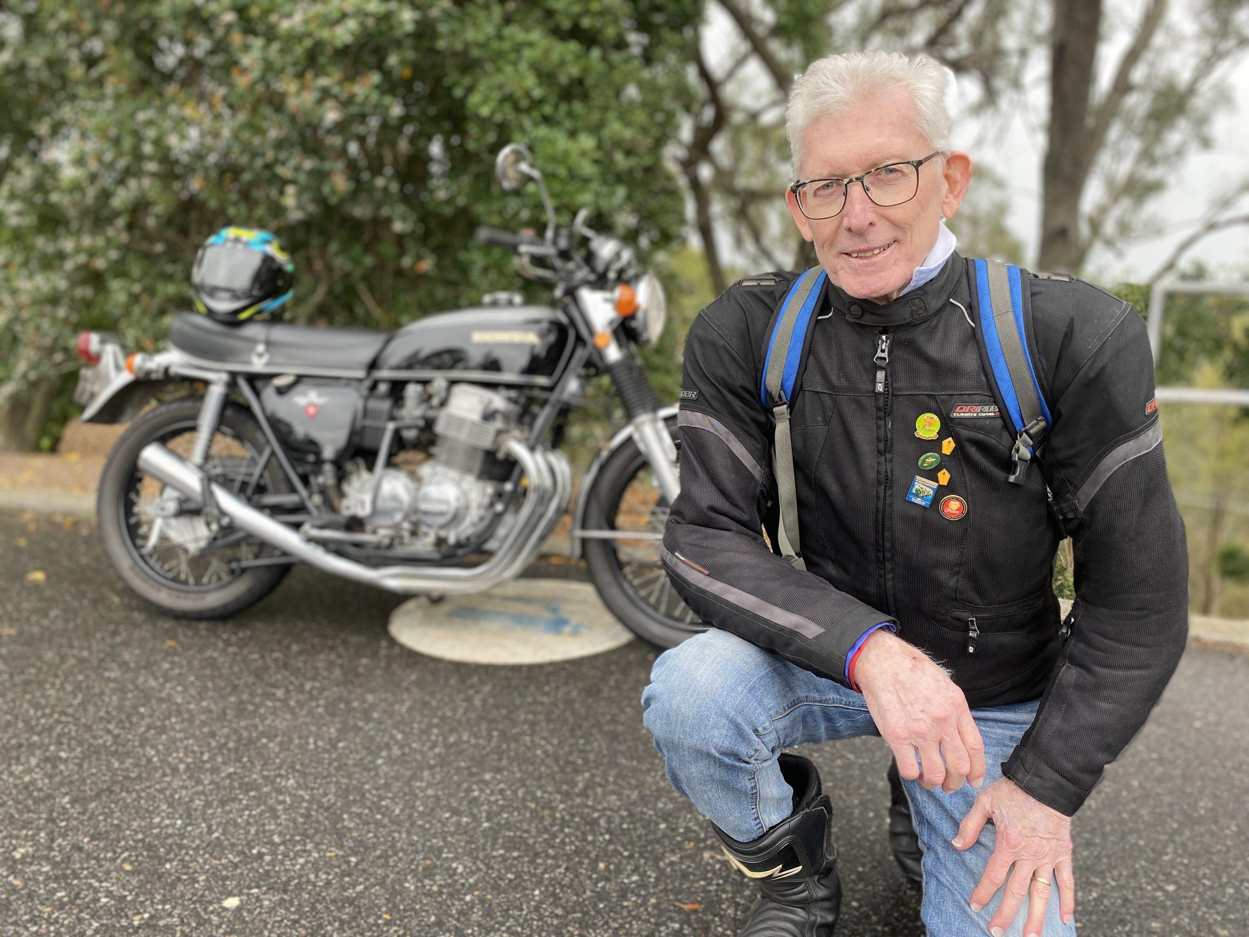 Queensland Motorcycle Council president Graham Keys