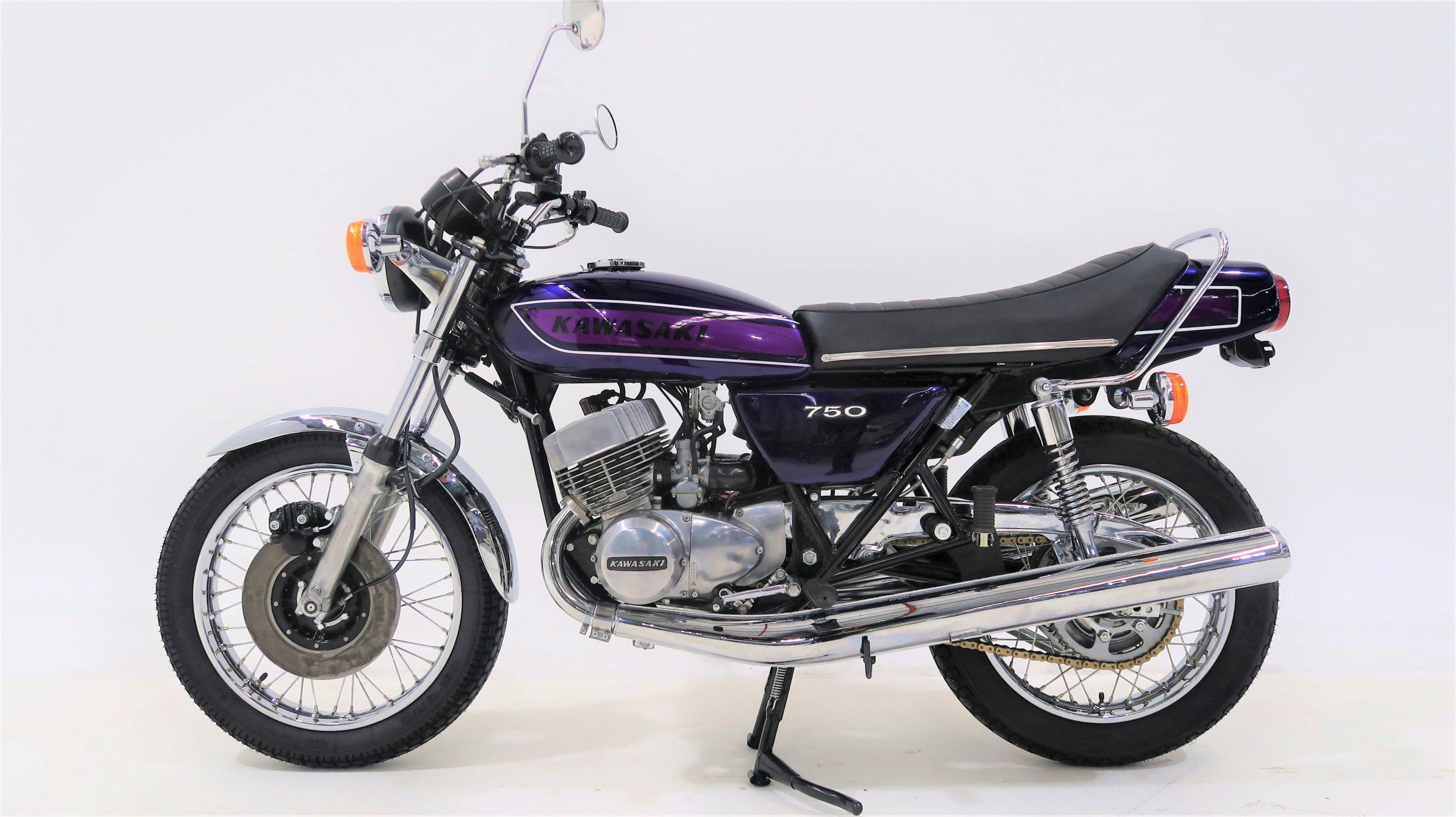 Kawasaki H2C 750cc 2-stroke triple