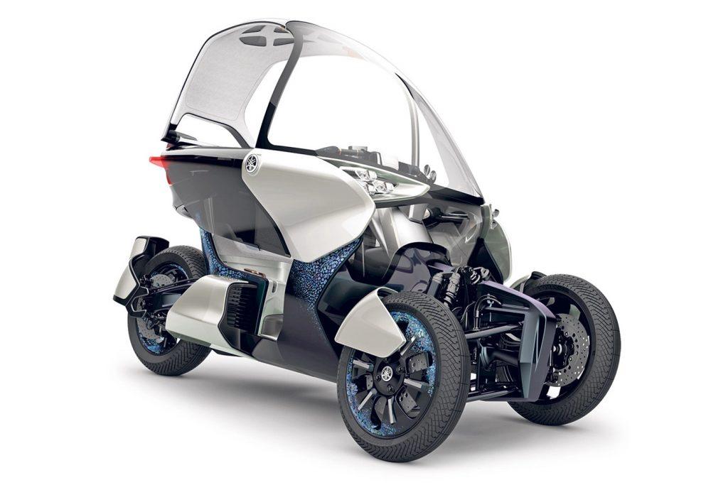 Yamaha's MW Vision Concept Trike