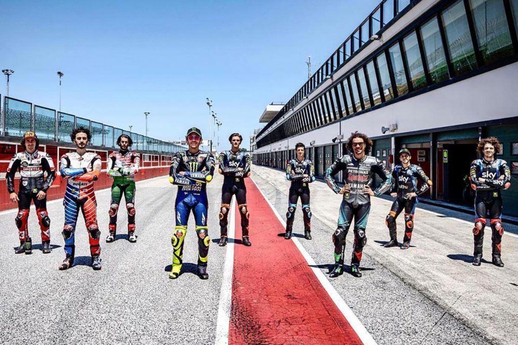 a view of the VR46 Riders Academy