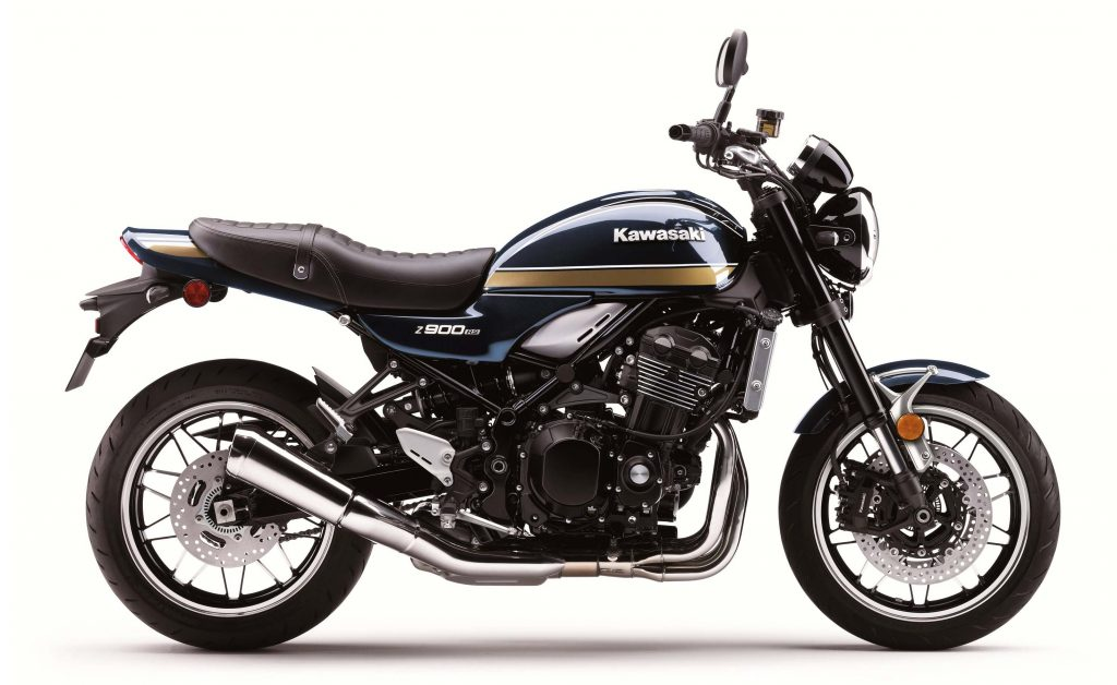 A side view of the 2022 Kawasaki Z900RS