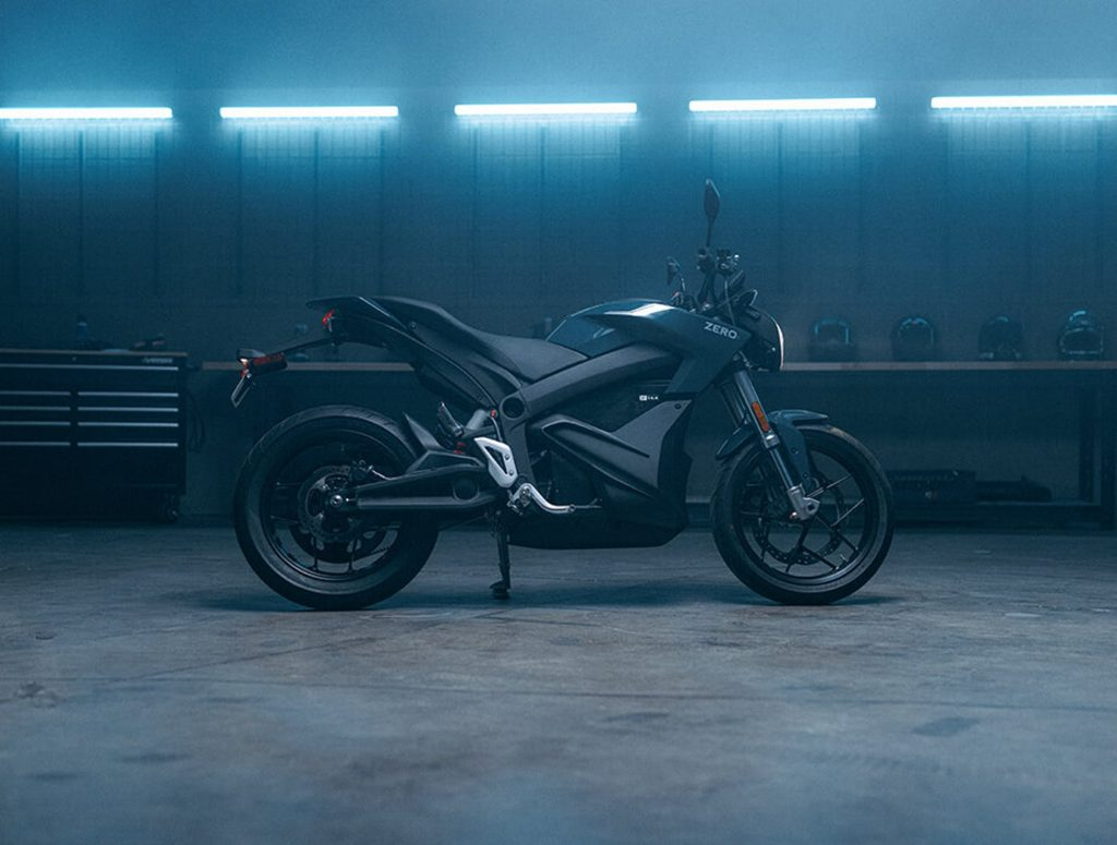 A side view of the 2022 ZERO S