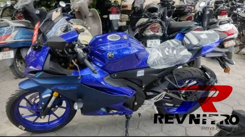 A side view of the new R15 3.0 coming out September 21