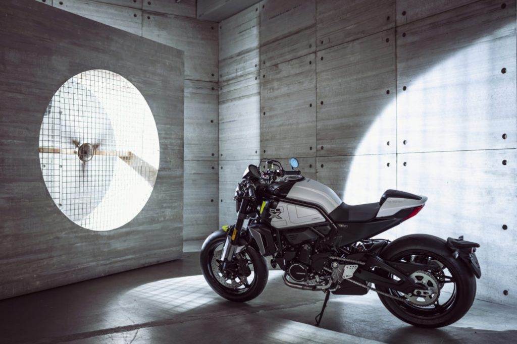 A view of the CFMoto 700 CL-X Sport