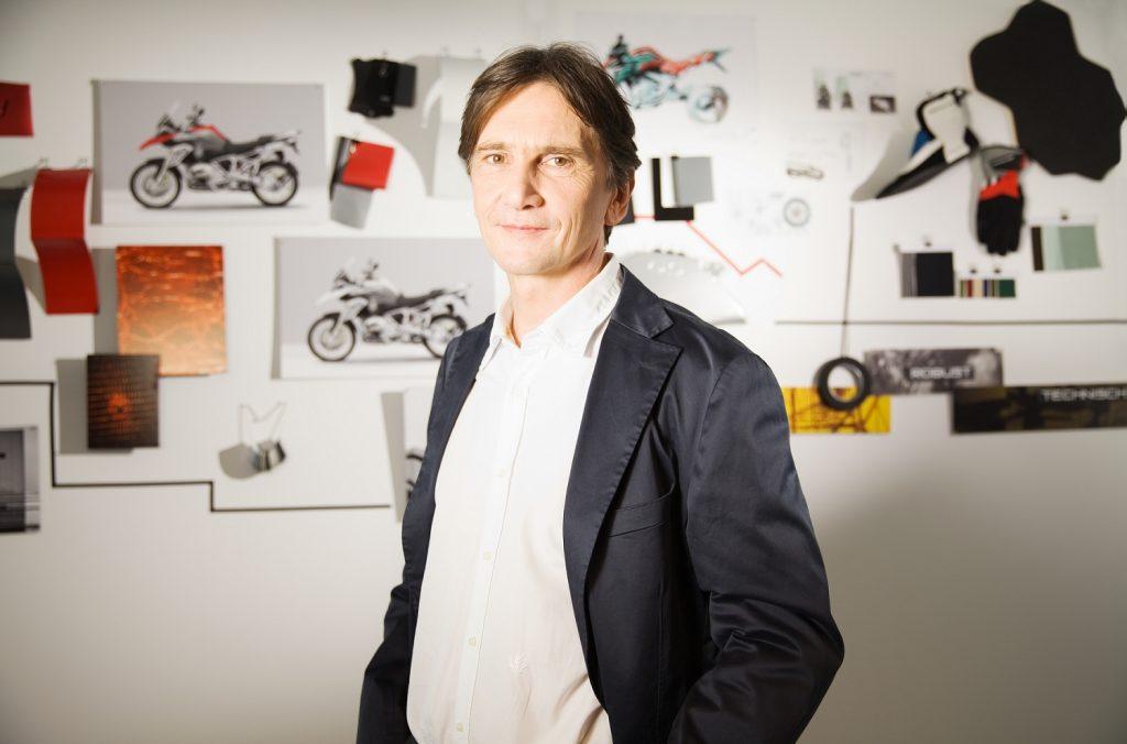 Edgar Heinrich, head of design at BMW Motorrad