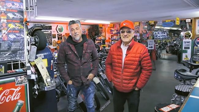 Denny Kannenberg with reality star Richard Rawlings