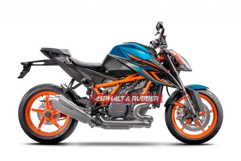 2022 KTM 1290 Super Duke R Evo Incoming